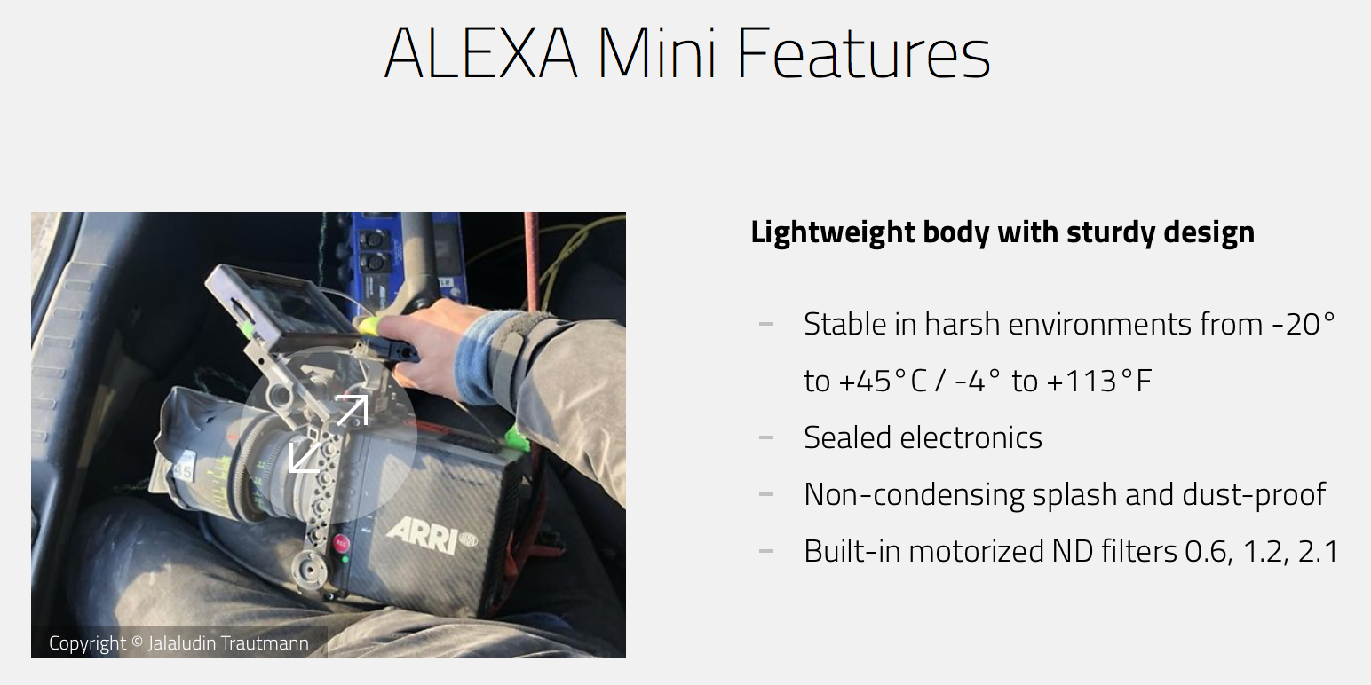 Alexa mini features