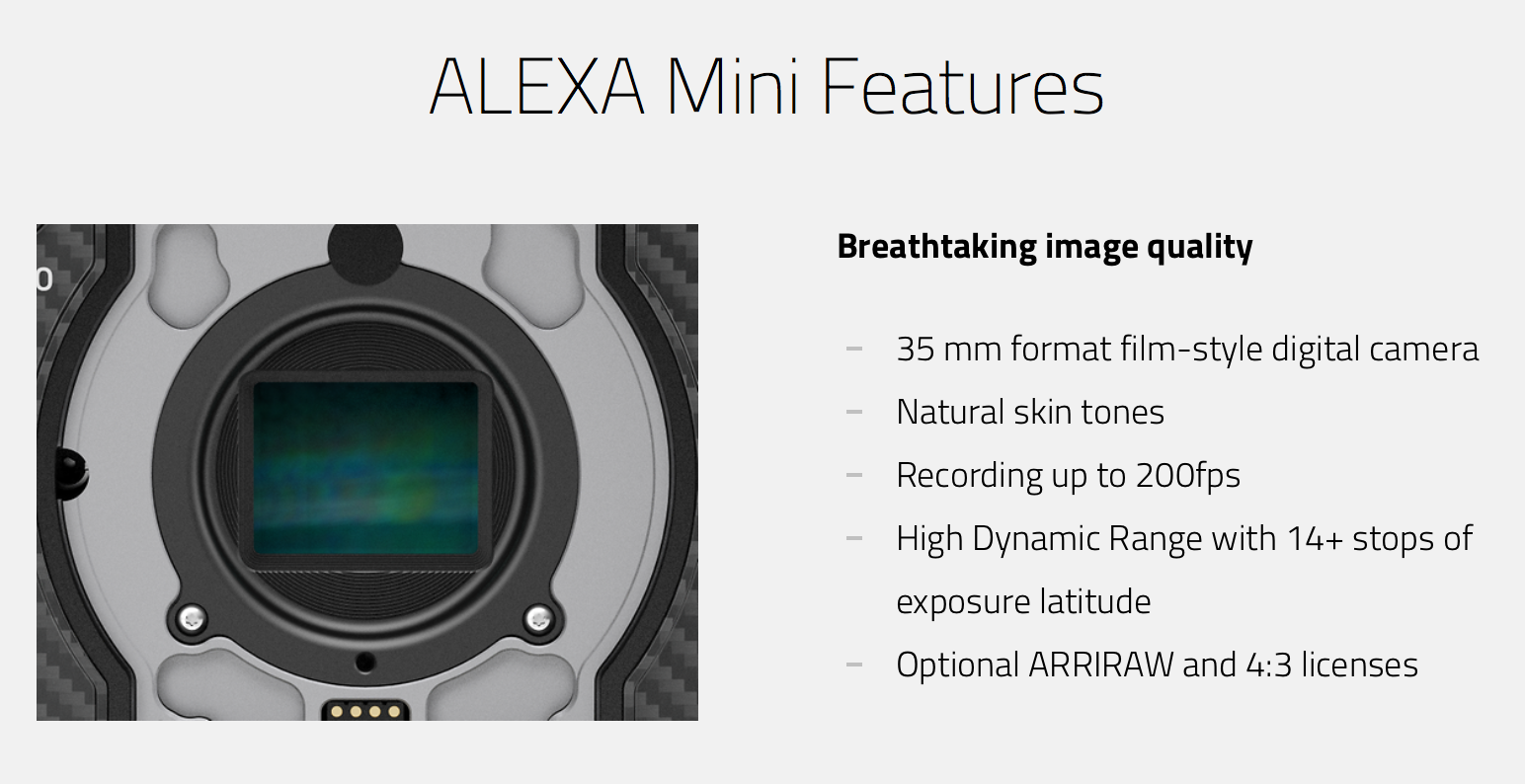 Alexa mini features 01