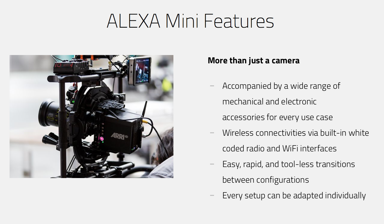 Alexa mini features 02