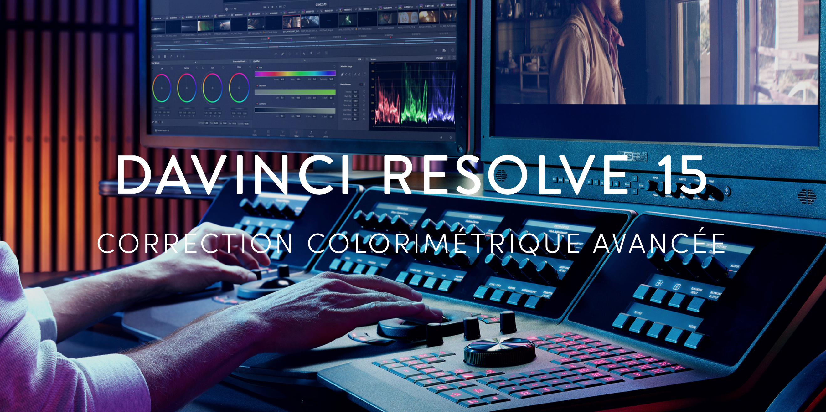 DAVINCI RESOLVE - ETALONNAGE