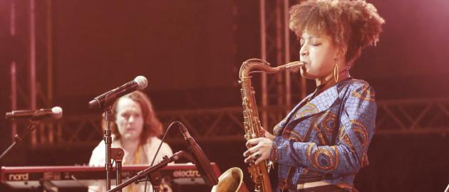 Nubya Garcia live at Singapore Jazz 2017