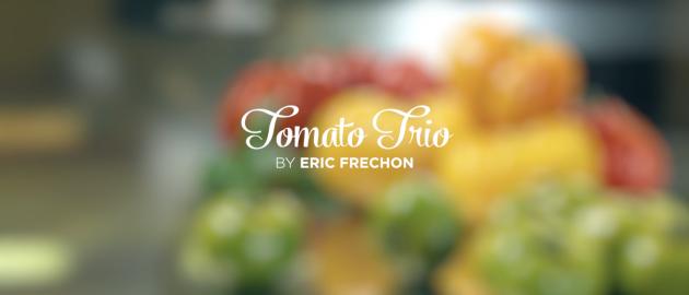 Samsung Club Des Chefs - Tomato Trio by Eric Frechon
